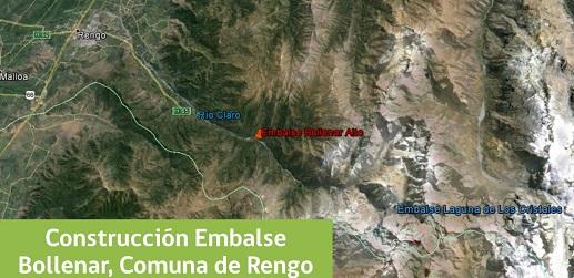 Proyecto Embalse Bollenar, comuna de Rengo